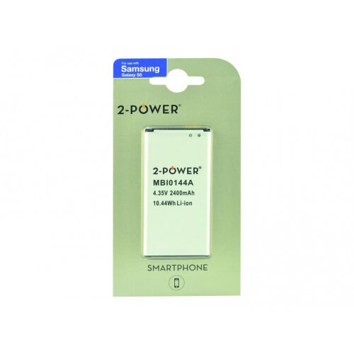 2-Power MBI0144A Smartphone - Battery - Li-Ion - 2800 mAh - 10 Wh - for Samsung Galaxy S5