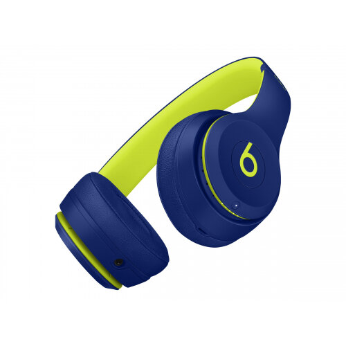 Beats Solo3 - Beats Pop Collection - headphones with mic - on-ear - Bluetooth - wireless - noise isolating - pop indigo - for 10.5-inch iPad Pro; 12.9-inch iPad Pro; 9.7-inch iPad; 9.7-inch iPad Pro; iPhone 7, 8, X