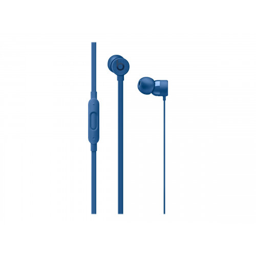 Beats urBeats3 - Earphones with mic - in-ear - wired - Lightning - noise isolating - blue - for iPad/iPhone/iPod (Lightning)