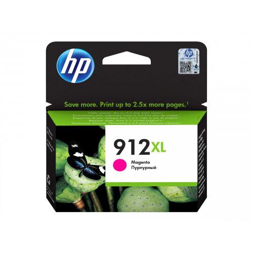 HP 912XL - 10.4 ml - High Yield - magenta - original - ink cartridge - for Officejet 8012, 8013, 8014, 8015; Officejet Pro 8020, 8022, 8024, 8025, 8035