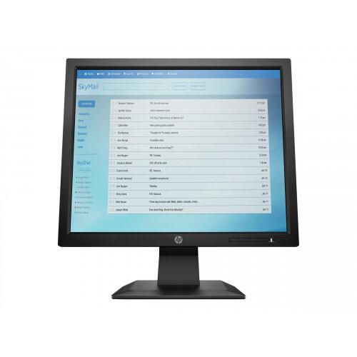 HP P174 - LED monitor - 17&uot; (17&uot; viewable) - 1280 x 1024 - 250 cd/m&up2; - 1000:1 - 5 ms - VGA - black - promo