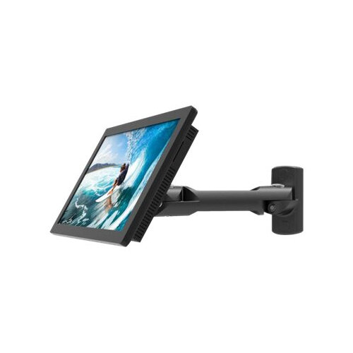 Compulocks Swing Arm Samsung TouchScreen Wall Mount Black - Mounting kit (swing arm) for tablet - high-grade aluminium - black - screen size: 10.1&uot; - desktop, under-the-cabinet - for Samsung DB10E-T