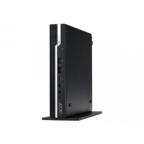 Acer Veriton N4 VN4660G - Compact PC - 1 x Core i5 9400T / 1.8 GHz - RAM 8 GB - SSD 256 GB - UHD Graphics 630 - GigE, 802.11ac Wave 2, Bluetooth 5.0 - WLAN: 802.11a/b/g/n/ac Wave 2, Bluetooth 5.0 - Win 10 Pro 64-bit - monitor: none