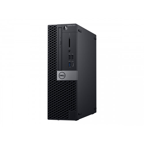 Dell OptiPlex 5070 - SFF - 1 x Core i5 9500 / 3 GHz - RAM 8 GB - SSD 256 GB - DVD-Writer - UHD Graphics 630 - GigE - Win 10 Pro 64-bit - monitor: none - BTS - with 3 Years Basic Onsite