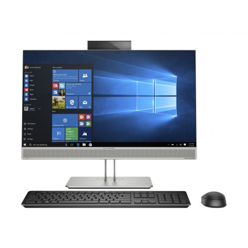 HP EliteOne 800 G5 - All-in-one - 1 x Core i7 9700K / 3.6 GHz - RAM 8 GB - SSD 256 GB - NVMe - UHD Graphics 630 - GigE, Bluetooth 5.0 - WLAN: 802.11a/b/g/n/ac, Bluetooth 5.0 - Win 10 Pro 64-bit - monitor: LED 23.8&uot; 1920 x 1080 (Full HD) touchscreen -