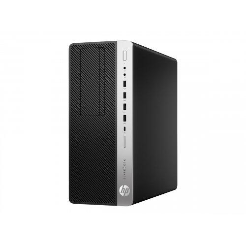 HP EliteDesk 800 G5 - Tower - 1 x Core i5 9500 / 3 GHz - RAM 8 GB - SSD 256 GB - NVMe - UHD Graphics 630 - GigE - Win 10 Pro 64-bit - monitor: none - keyboard: UK