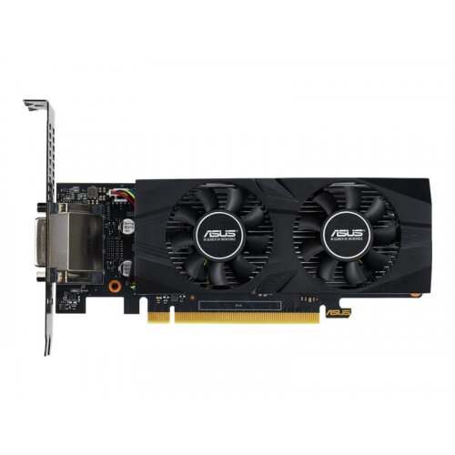 ASUS GTX1650-O4G-LP-BRK - OC Edition - graphics card - GF GTX 1650 - 4 GB GDDR5 - PCIe 3.0 x16 low profile - DVI, HDMI, DisplayPort