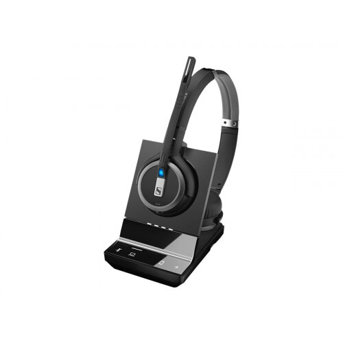 Sennheiser SDW 5063 - Headset system - on-ear - DECT - wireless - UK