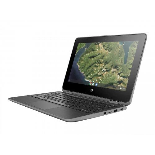 HP Chromebook x360 11 G2 - Education Edition - flip design - Celeron N4000 / 1.1 GHz - Google Chrome OS 64 - 4 GB RAM - 32 GB eMMC - 11.6&uot; IPS touchscreen 1366 x 768 (HD) - UHD Graphics 600 - Wi-Fi, Bluetooth - kbd: UK
