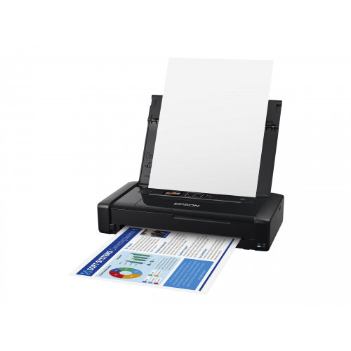 Epson WorkForce WF-110W - Printer - colour - ink-jet - A4/Legal - 5760 x 1440 dpi - up to 14 ppm (mono) / up to 11 ppm (colour) - capacity: 20 sheets - USB 2.0, Wi-Fi(n)