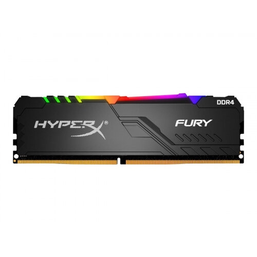 HyperX FURY RGB - DDR4 - 16 GB: 2 x 8 GB - DIMM 288-pin - 3000 MHz / PC4-24000 - CL15 - 1.35 V - unbuffered - non-ECC - black
