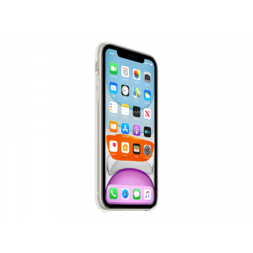 Apple - Back cover for mobile phone - polycarbonate, thermoplastic polyurethane (TPU) - clear - for iPhone 11