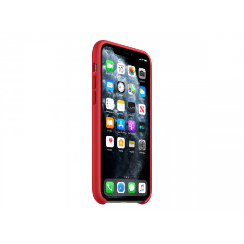 Apple (PRODUCT) RED - Back cover for mobile phone - silicone - red - for iPhone 11 Pro