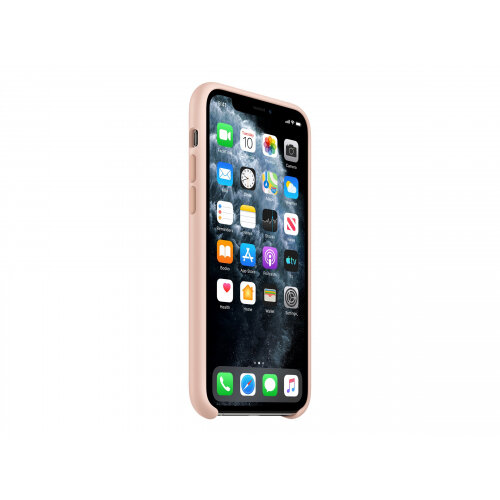 Apple - Back cover for mobile phone - silicone - pink sand - for iPhone 11 Pro