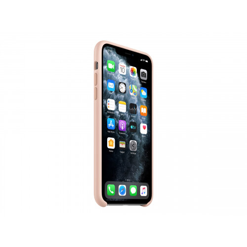 Apple - Back cover for mobile phone - silicone - pink sand - for iPhone 11 Pro Max