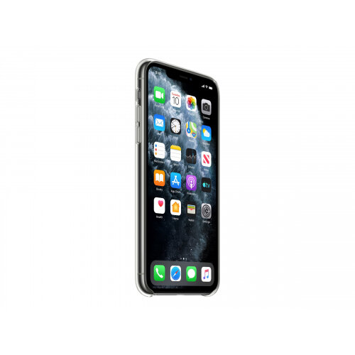 Apple - Back cover for mobile phone - polycarbonate, thermoplastic polyurethane (TPU) - clear - for iPhone 11 Pro Max