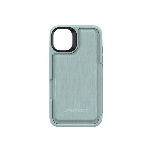 LifeProof FLiP - Flip cover for mobile phone - water lily, light blue/green - for Apple iPhone 11