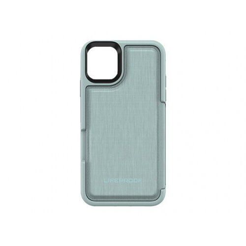 LifeProof FLiP - Flip cover for mobile phone - water lily, light blue/green - for Apple iPhone 11 Pro Max