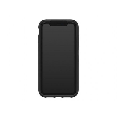 OtterBox Symmetry Series - Back cover for mobile phone - polycarbonate, synthetic rubber - black - for Apple iPhone 11