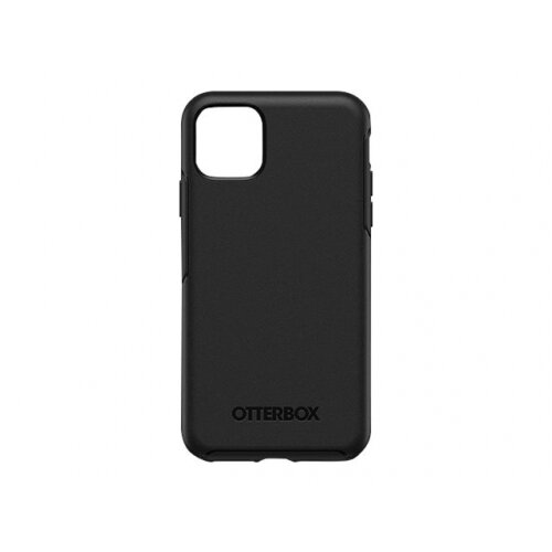 OtterBox Symmetry Series - Back cover for mobile phone - polycarbonate, synthetic rubber - black - for Apple iPhone 11 Pro Max