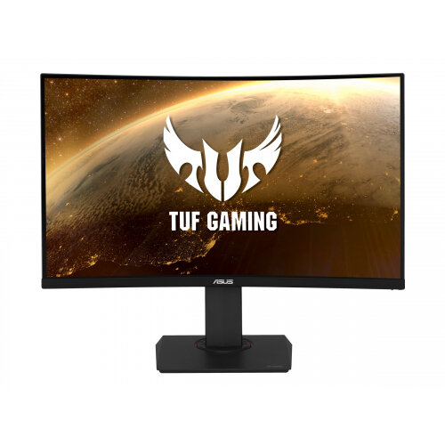 ASUS TUF Gaming VG32VQ - LED monitor - curved - 31.5&uot; - 2560 x 1440 WQHD - VA - 400 cd/m&up2; - 3000:1 - 1 ms - 2xHDMI, DisplayPort - speakers