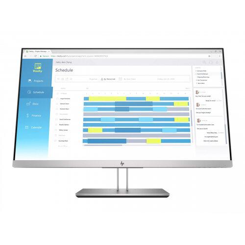 HP EliteDisplay E273d Docking Monitor - LED monitor - 27&uot; (27&uot; viewable) - 1920 x 1080 Full HD (1080p) - IPS - 250 cd/m&up2; - 1000:1 - 5 ms - HDMI, VGA, DisplayPort, USB-C