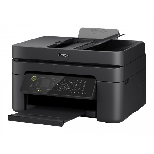 Epson WorkForce WF-2835DWF - Multifunction printer - colour - ink-jet - A4/Legal (media) - up to 33 ppm (printing) - 100 sheets - 33.6 Kbps - USB 2.0, Wi-Fi(n)