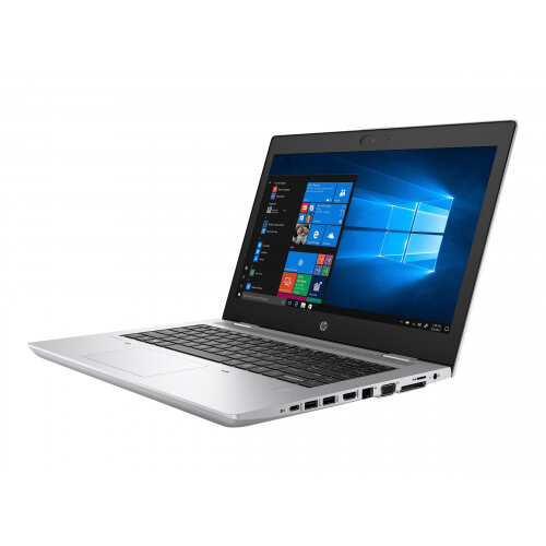 HP ProBook 640 G5 - Core i5 8265U / 1.6 GHz - Win 10 Pro 64-bit - 8 GB RAM - 256 GB SSD NVMe, HP Value - 14&uot; IPS 1920 x 1080 (Full HD) - UHD Graphics 620 - Bluetooth, Wi-Fi - natural silver - kbd: UK