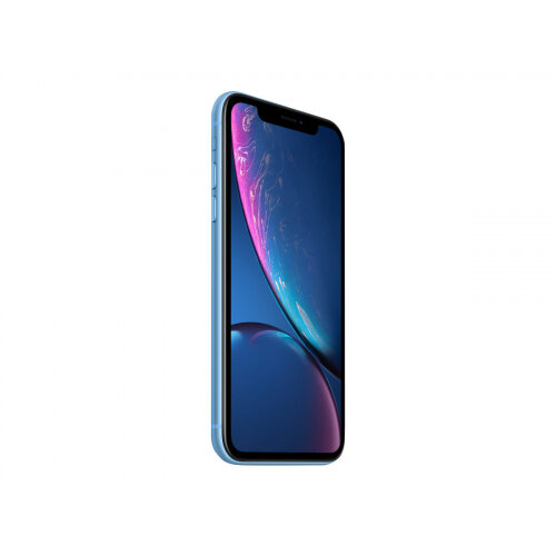 Apple iPhone XR - Smartphone - dual-SIM - 4G LTE Advanced - 64 GB - GSM - 6.1&uot; - 1792 x 828 pixels (326 ppi) - Liquid Retina HD display - 12 MP (7 MP front camera) - blue