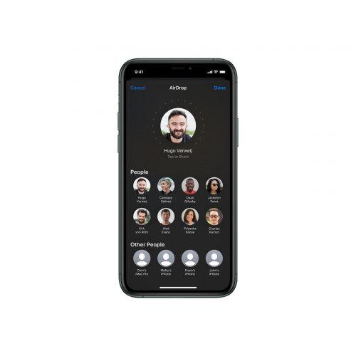 Apple iPhone 11 Pro Max - Smartphone - dual-SIM - 4G Gigabit Class LTE - 256 GB - GSM - 6.5&uot; - 2688 x 1242 pixels (458 ppi) - Super Retina XDR Display (12 MP front camera) - 3x rear cameras - midnight green