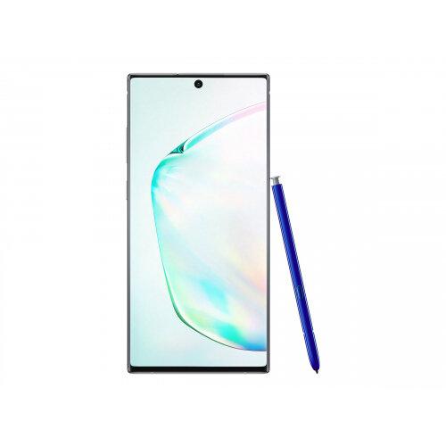 Samsung Galaxy Note10+ - Smartphone - dual-SIM - 4G LTE - 256 GB - microSDXC slot - TD-SCDMA / UMTS / GSM - 6.8&uot; - 3040 x 1440 pixels (498 ppi) - Dynamic AMOLED - RAM 12 GB (10 MP front camera) - 4x rear cameras - Android - aura glow