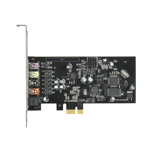 ASUS XONAR SE - Sound card - 24-bit - 192 kHz - 116 dB SNR - 5.1 - PCIe - CM6620A - low profile