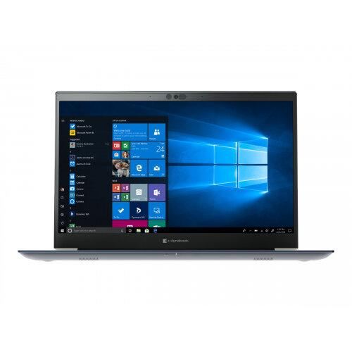 Dynabook Toshiba Tecra X50-F-16K - Core i7 8565U / 1.8 GHz - Win 10 Pro 64-bit - 16 GB RAM - 512 GB SSD (32 GB SSD cache) QLC - 15.6&uot; 1920 x 1080 (Full HD) - UHD Graphics 620 - Wi-Fi, Bluetooth - matte black (keyboard), onyx blue with brushed look -
