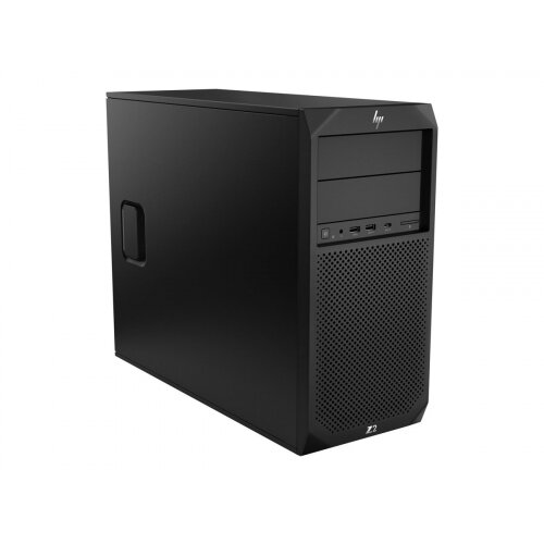 HP Workstation Z2 G4 - MT - 1 x Core i7 8700K / 3.7 GHz - RAM 16 GB - SSD 256 GB - UHD Graphics 630 - GigE - Win 10 Pro 64-bit - vPro - monitor: none - keyboard: UK