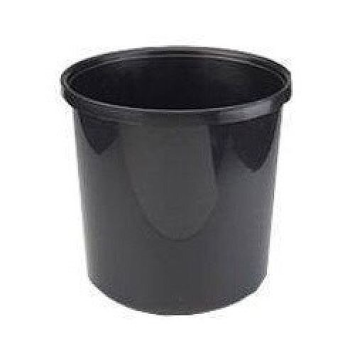 Avery 20 Litre Style Office Desk Bin Polypropylene Black 19BLK