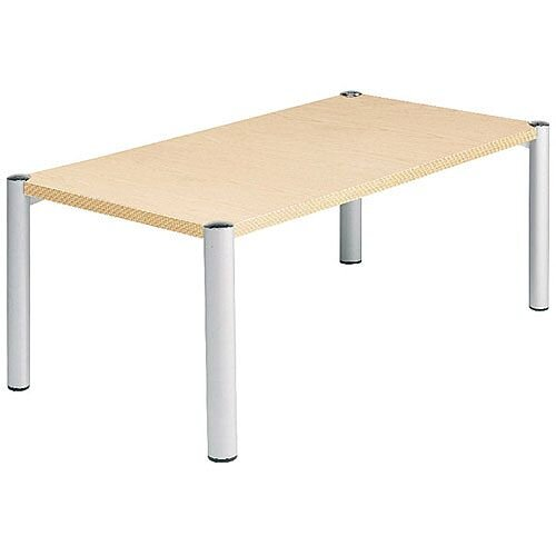 Avior Rectangular Reception Coffee Table Beech KF03532