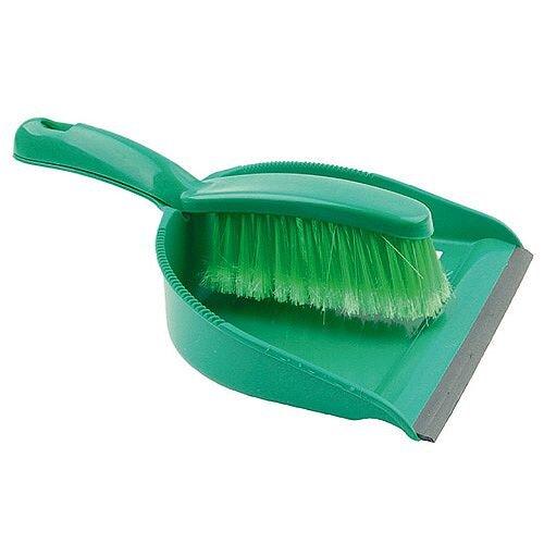 Bentley Dustpan and Brush Set Green 8011/G
