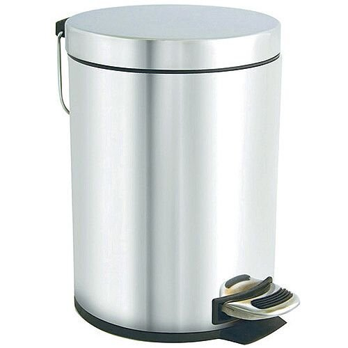 Bentley Stainless Steel Pedal Bin 5Ltr