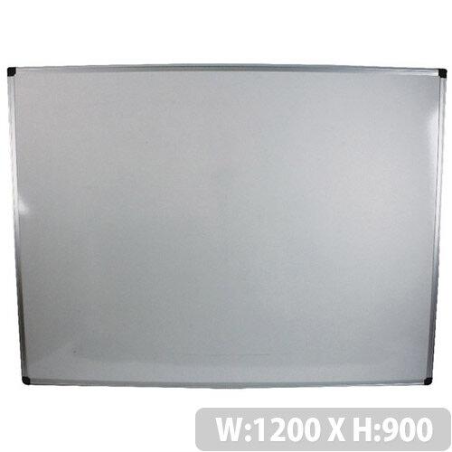 Bi-Office Whiteboard 1200x900mm Aluminium Frame MB0512170