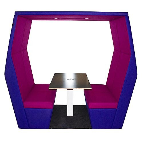 Meeting Pod BILL 4 Seater Purple