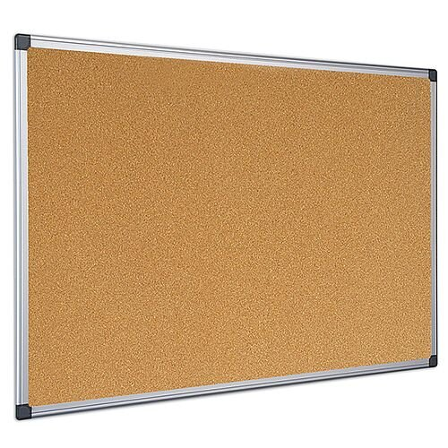 Bi-Office Cork Board 600 x 900mm Aluminium Frame CA031170