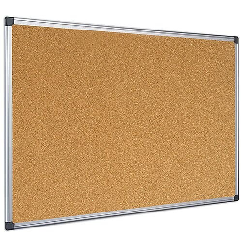 Bi-Office Cork Board 1200 x 900mm Aluminium Frame CA051170