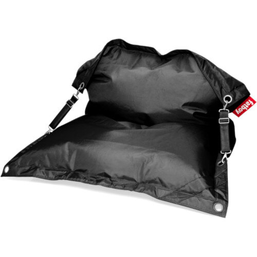 The Buggle Up Bean Bag 190x140cm Black Suitable for Indoor &Outdoor Use - Fatboy The Original Bean Bag Range