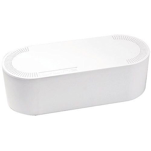 Cable Tidy Unit 340X120X115mm Small White