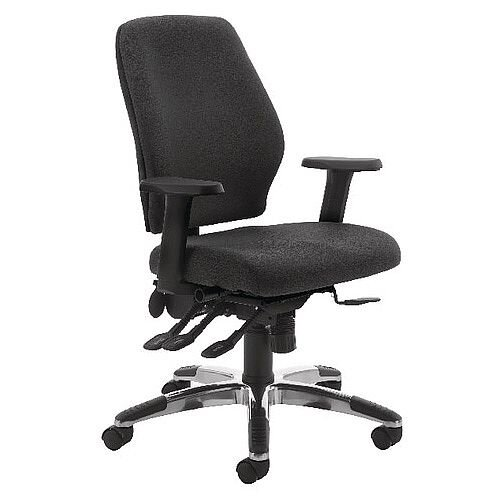 Cappela Agility High Back Ergonomic Posture Office Chair Black Kf73885