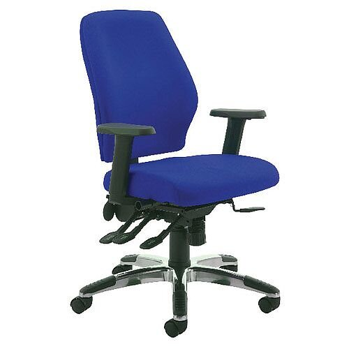 Cappela Agility High Back Ergonomic Posture Office Chair Blue Kf73886