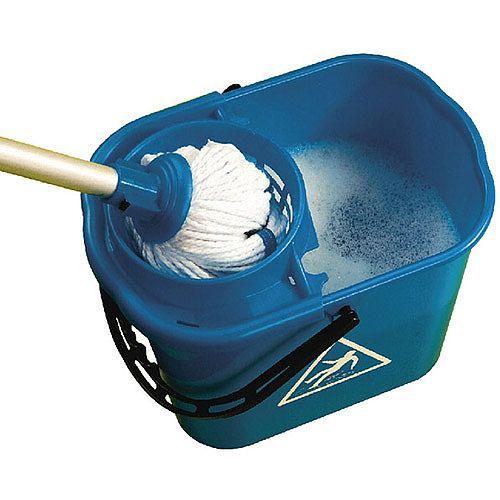 Mop Bucket Wringer 15 Litre Blue