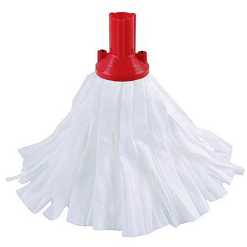 Contico Standard Big White Exel Mop Head Red Pack of 10