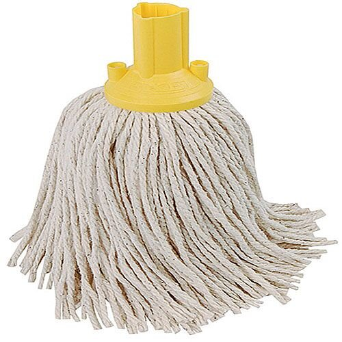 Contico Exel Mop Head 250gm Yellow Pack of 10