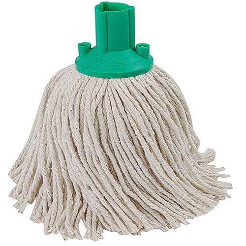 Contico Exel Mop Head 250gm Green Pack of 10